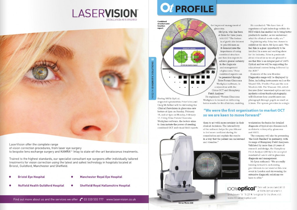 LaserVision in Optometry Today